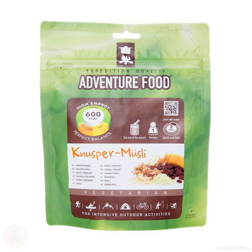 Adventure Food - Knusper Müsli
