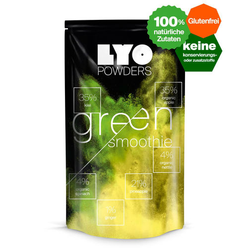 LYO-Food - Grüner Smoothie-bottle size