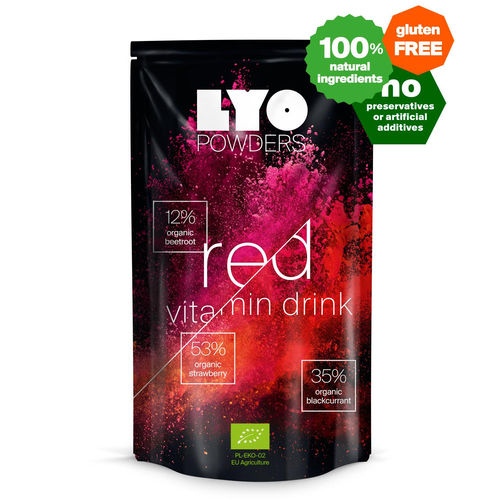 LYO-Food - Rotes Vitamingetränk -bottle size