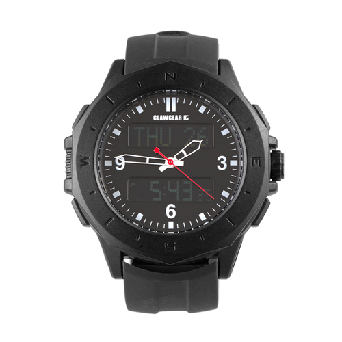 Uhr Dual Timer - All Black
