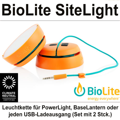 BioLite SiteLight Laterne